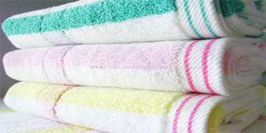 Yarn Dyed Stripe Towels